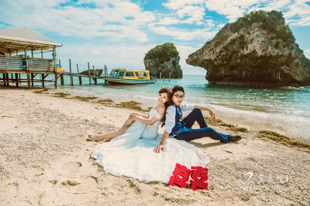 沖繩海外婚紗照